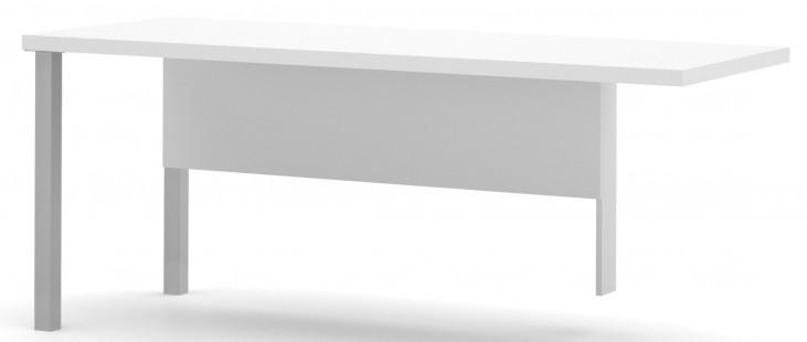 Pro-Linea White Metal Leg Return Table