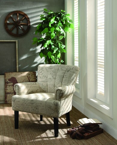 Langdale French Note Accent Chair