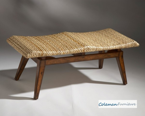 Designer's Edge Fossil stone veneer seat Bench