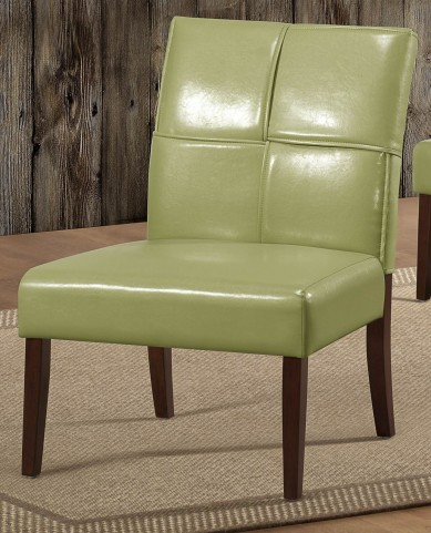 Oriana Green Accent Chair