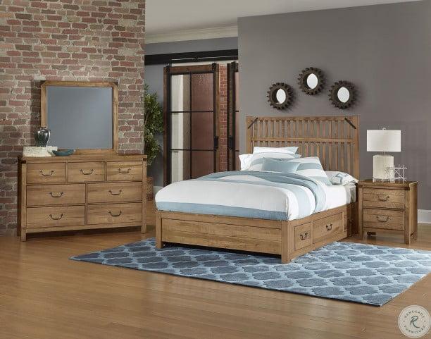 Pleasant Sedgwick Natural Maple Storage Bedroom Set Home Interior And Landscaping Pimpapssignezvosmurscom