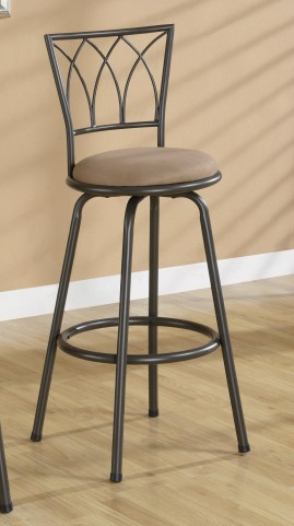 """Brown 29"""" Counter Height Stool 122020 Set of 2"""