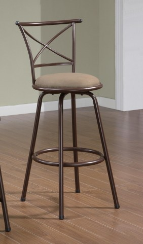 """Brown 29"""" Counter Height Stool 122030 Set of 2"""