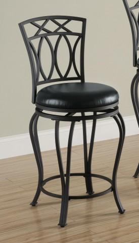 Black Bar Chair 122059