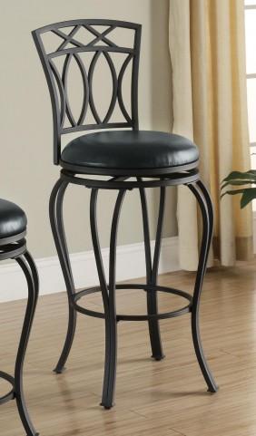 Black Bar Chair 122060