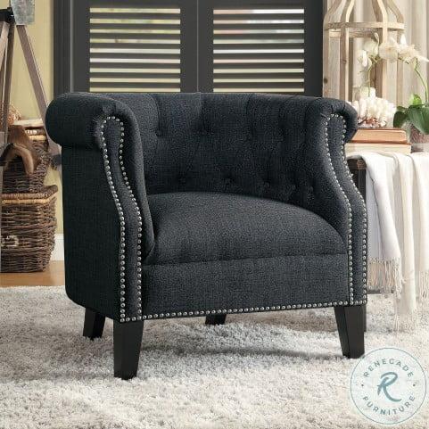 Karlock Gray Accent Chair