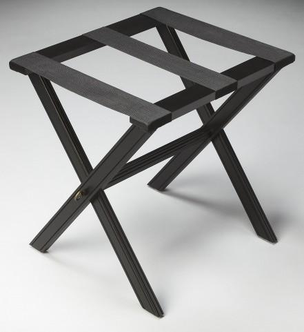 Masterpiece Black Licorice Luggage Rack
