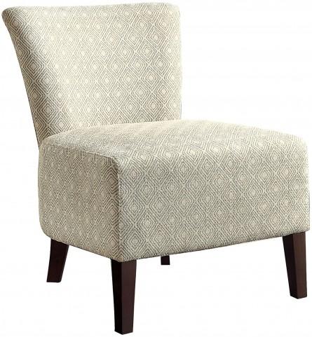 Cotati Square Pattern Accent Chair