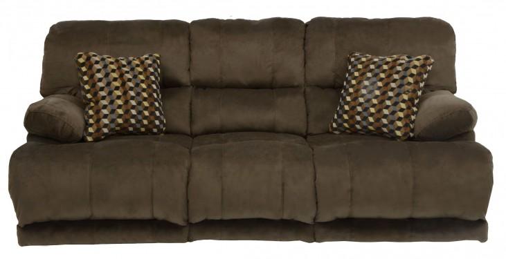 Riley Coffee Reclining Sofa