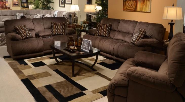 Riley Coffee Power Reclining Living Room Set