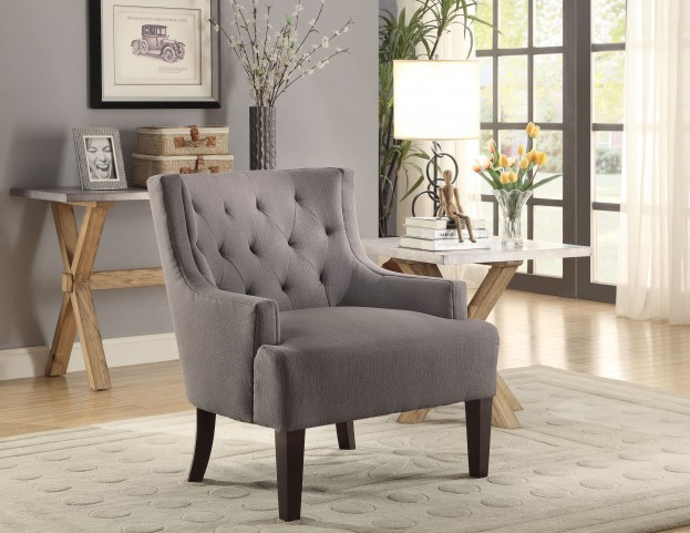 Dulce Grey Accent Chair