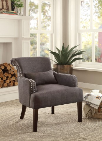 Reedley Chocolate Accent Chair