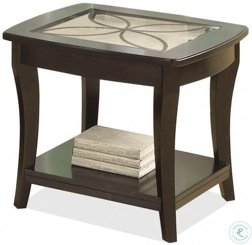 Annandale Dark Mahogany Rectangular Occasional Table Set