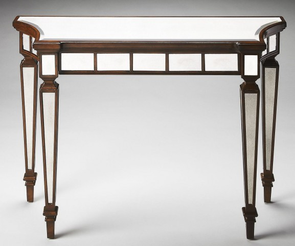 Garbo Masterpiece Mirror And Mahogany Console Table