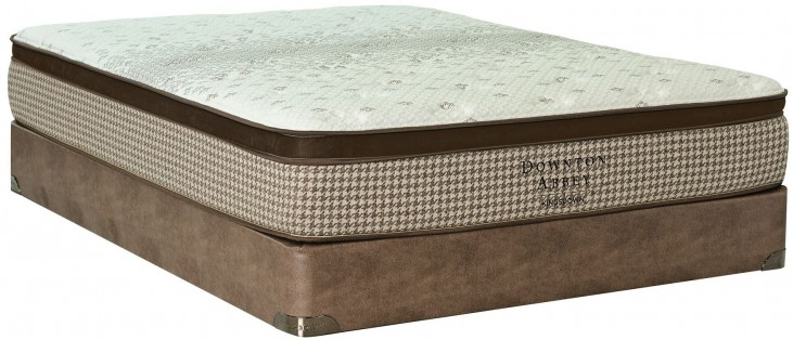 Downton Abbey Country Living III Euro Top King Mattress With Foundation