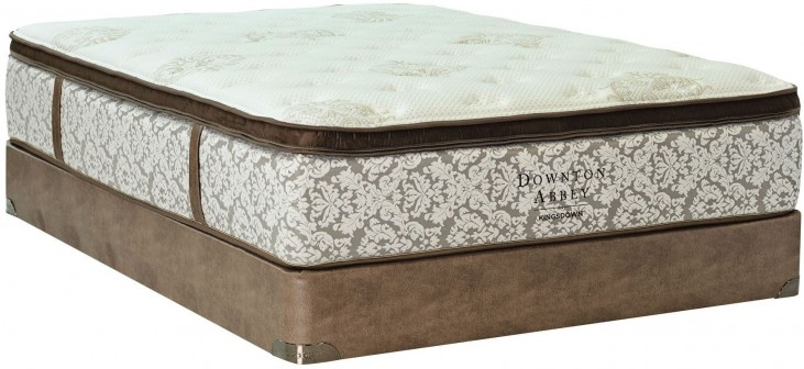Downton Abbey Edwardian Lace IV Pillow Top Full Long Mattress With Foundation