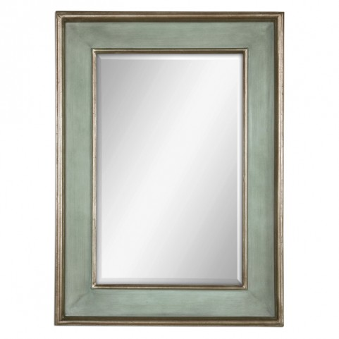 Ogden Antique Light Blue Mirror