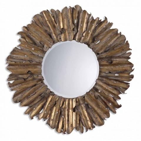 Hemani Antique Gold Mirror