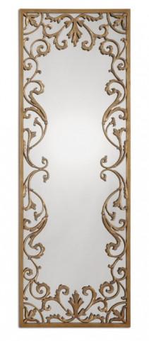 Apricena Decorative Gold Mirror