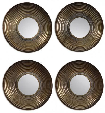 Tondela Round Mirrors Set of 4