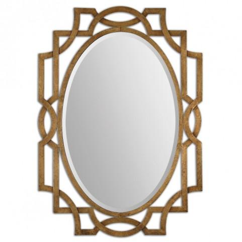 Margutta Gold Oval Mirror
