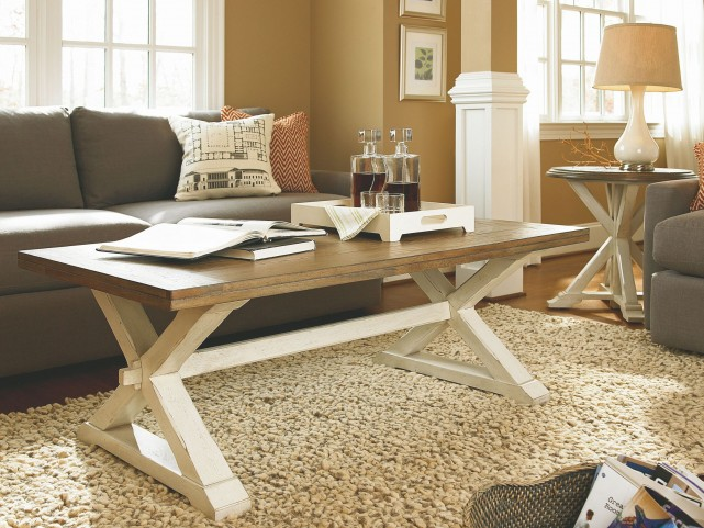 Great Rooms Brown Occasional Table Set
