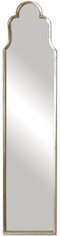 Cerano Arched Silver Mirror