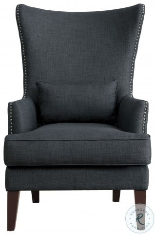 Avina Charcoal Accent Chair