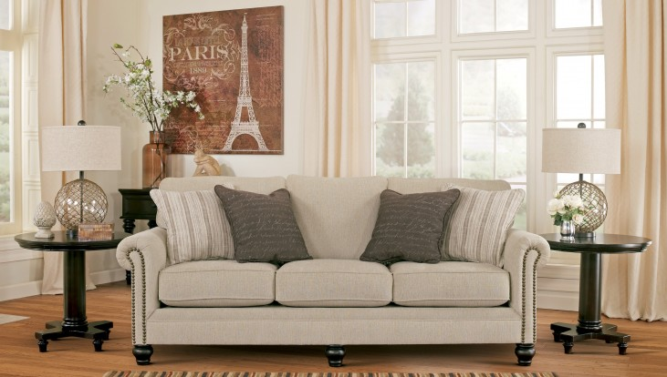 Milari Linen Rayon Sofa From Ashley 1300038 Coleman