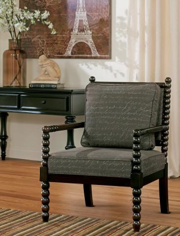 Milari Linen Rayon Accent Chair