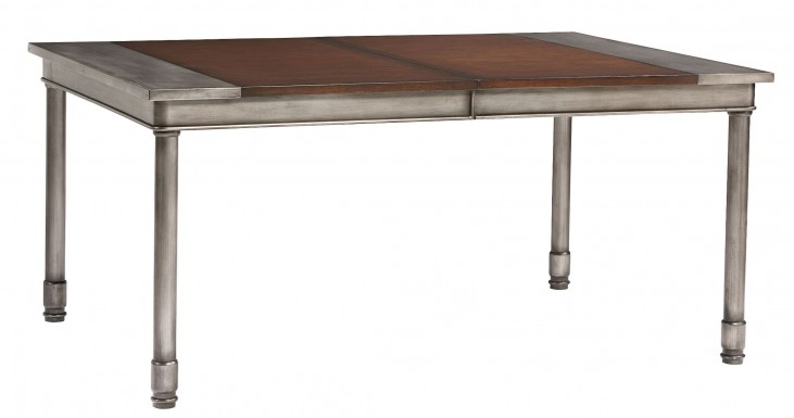Hudson Warm Cherry Rectangular Extendable Dining Table