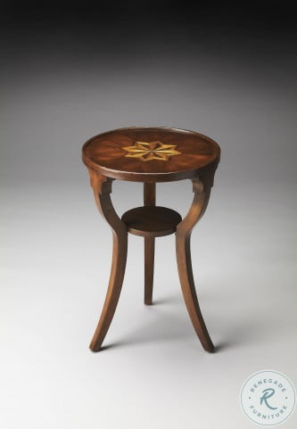 Plantation Cherry 1328024 Round Accent Table