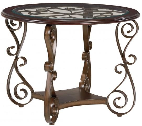Bombay Dark Cherry Counter Height Table