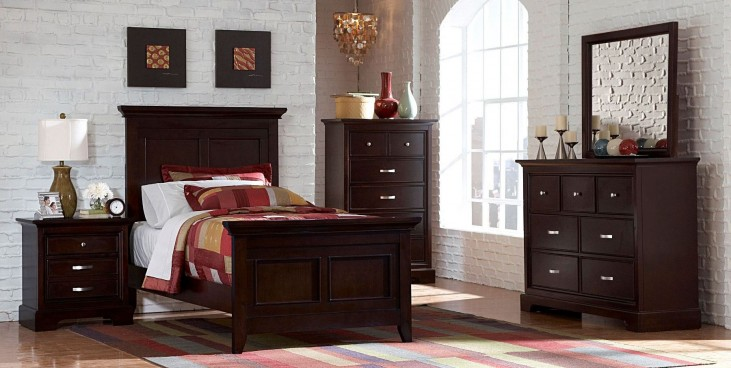 Glamour Panel Bedroom Set