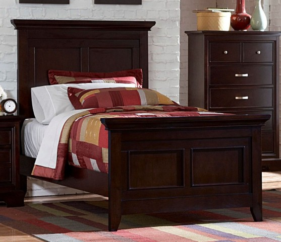 Glamour Cal. King Panel Bed