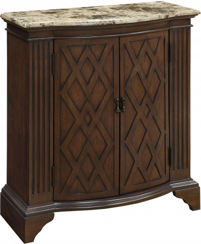 Barrister Warm Brown 2 Door Cabinet