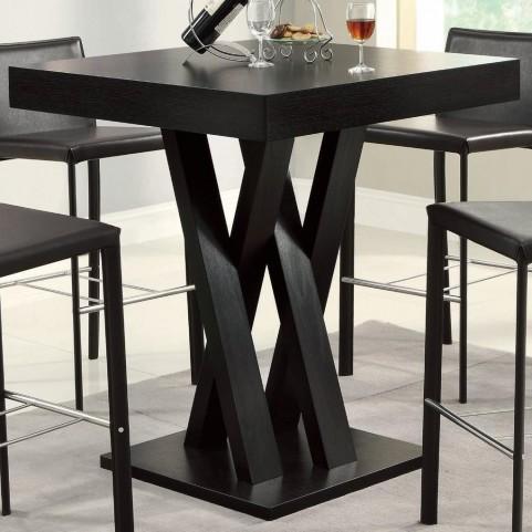 100520 Crisscross Bar Table