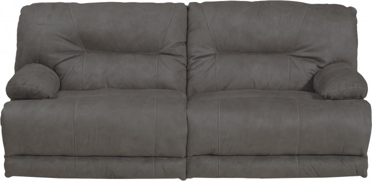 Noble Slate Power Reclining Sofa