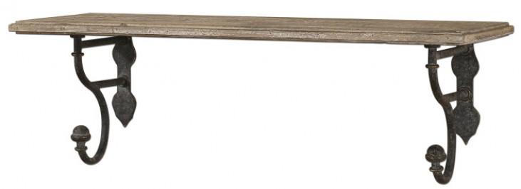 Gualdo Aged Wood Shelf