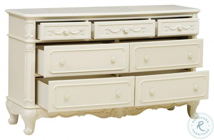 Cinderella Creamy White Dresser