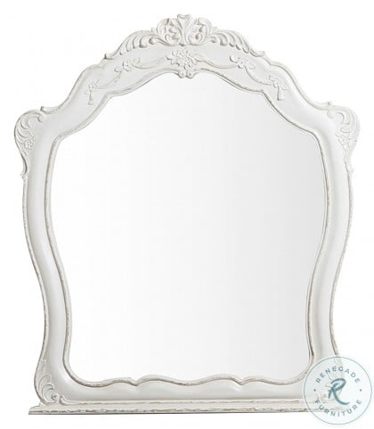 Cinderella Antique White With Grey Mirror