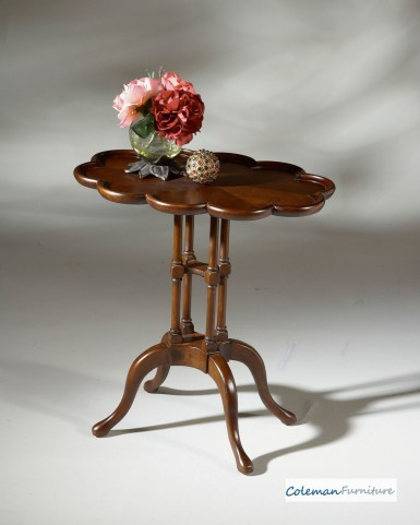Lloyd Plantation Cherry Oval Accent Table