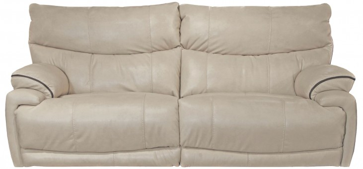 Larkin Buff Reclining Sofa
