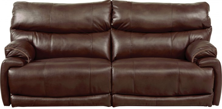 Larkin Coffee Power Reclining Sofa