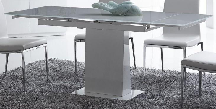 Bonn White Extendable Dining Table