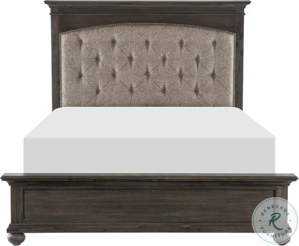 Motsinger Brown King Panel Bed