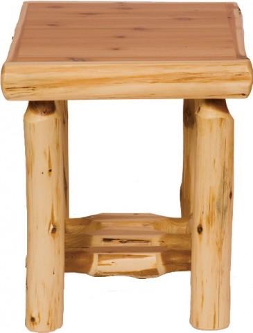 Cedar Open End Table