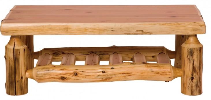 """Cedar 20"""" Open Standard Coffee Table"""