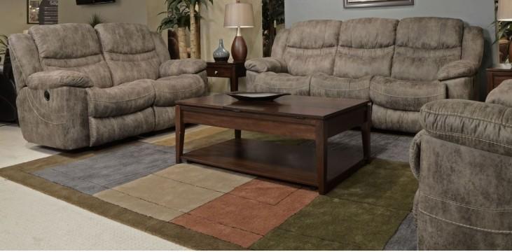 Valiant Marble Power Reclining Living Room Set