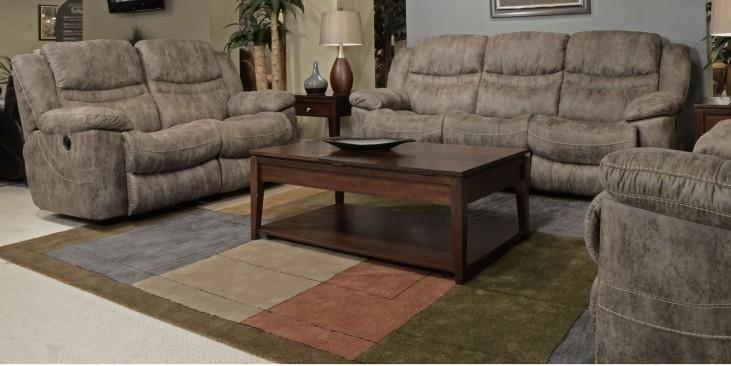 Valiant Marble Reclining Living Room Set
